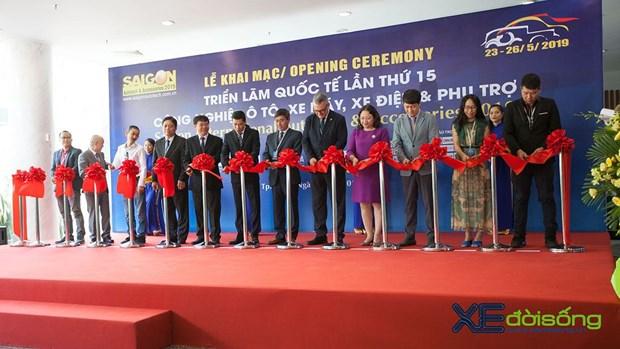 Ouverture de l'exposition Saigon Autotech & Accessories 2019 hinh anh 1