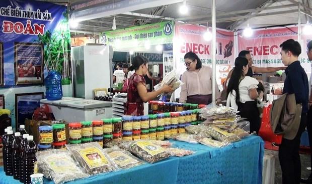 Quang Binh : ouverture du Salon international du commerce et de l'industrie 2019 hinh anh 1