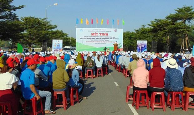 Quang Nam : meeting en echo a la Journee mondiale de l'environnement 2019 hinh anh 1