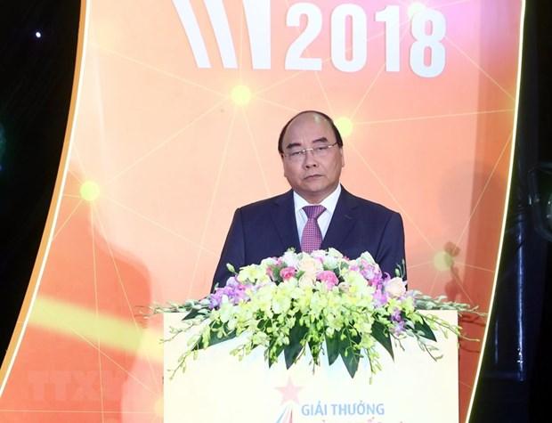 La ceremonie de remise des Prix nationaux de l'information pour l'etranger 2018 hinh anh 1