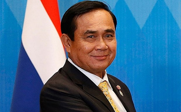 Message de felicitations au Premier ministre thailandais hinh anh 1