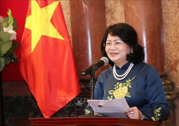 La vice-presidente Dang Thi Ngoc Thinh participera au 5e sommet de la CICA hinh anh 1