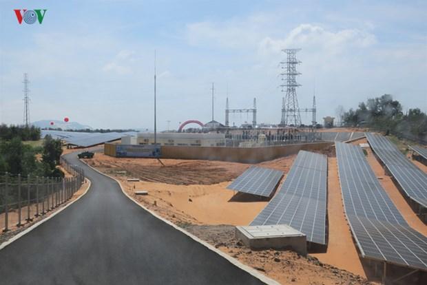 Inauguration de la centrale solaire de Mui Ne a Binh Thuan hinh anh 1