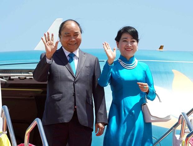 Le PM arrive a Bangkok pour le 34e Sommet de l'ASEAN hinh anh 1