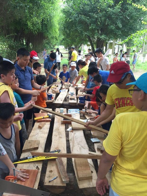 Hanoi : ouverture du premier terrain d'aventure au Vietnam hinh anh 1