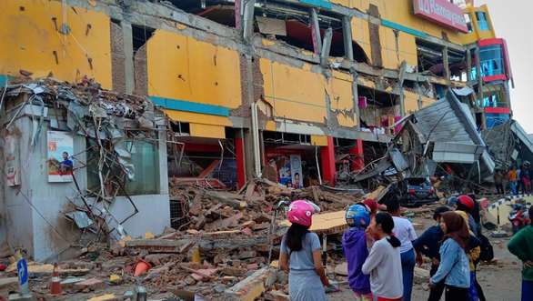 Un violent seisme frappe l'Indonesie hinh anh 1