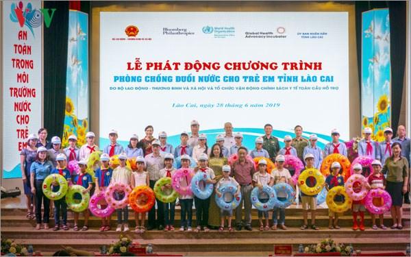 Lao Cai lutte contre la noyade chez les enfants hinh anh 1