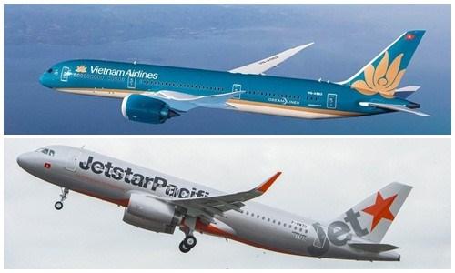Vietnam Airlines et Jetstar Pacific modifient des vols a cause du typhon Mun hinh anh 1