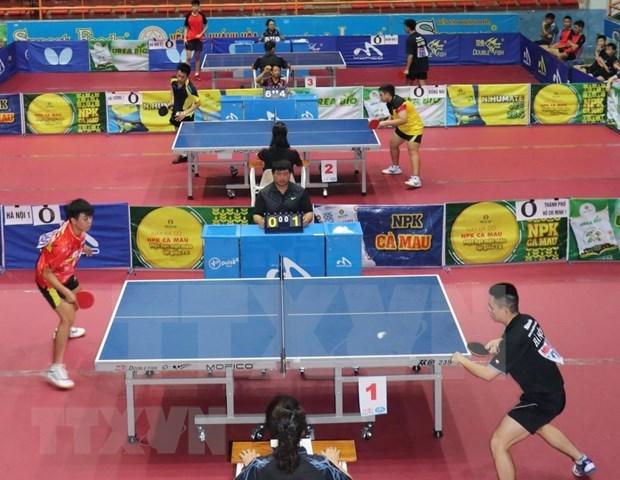 """Ouverture du 33e tournoi international de ping-pong """"Raquette d'or"""" a Ho Chi Minh-Ville hinh anh 1"""