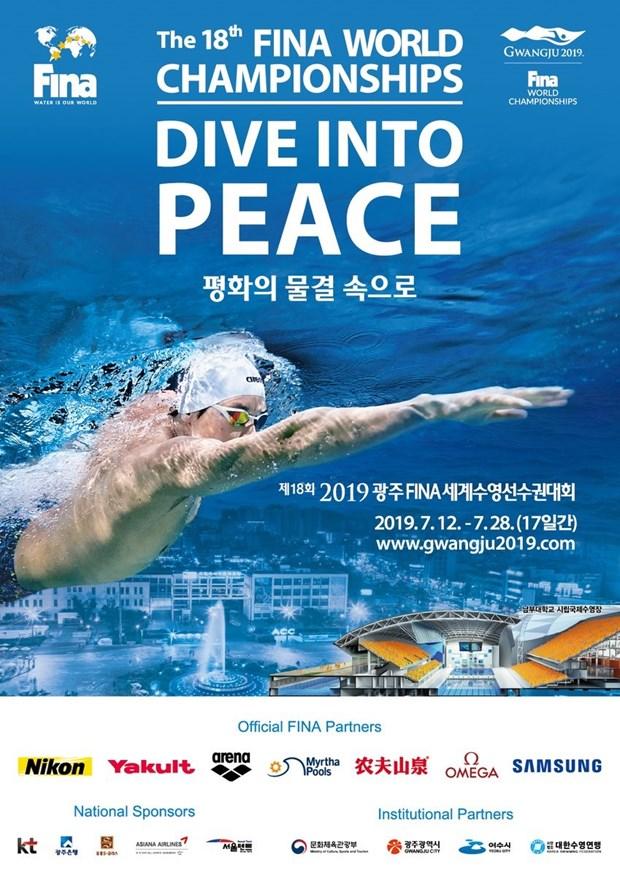Le Vietnam participera aux Championnats du monde de natation 2019 en R.de Coree hinh anh 1