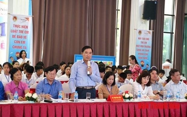 Un forum a Thanh Hoa met l'accent sur les droits des enfants hinh anh 1