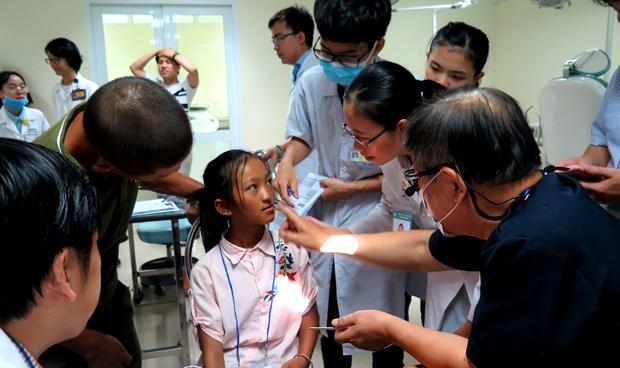 Operations gratuites pour 30 enfants du Centre du Vietnam hinh anh 1
