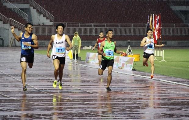 Ouverture d'un tournoi international d'athletisme a Ho Chi Minh-Ville hinh anh 2