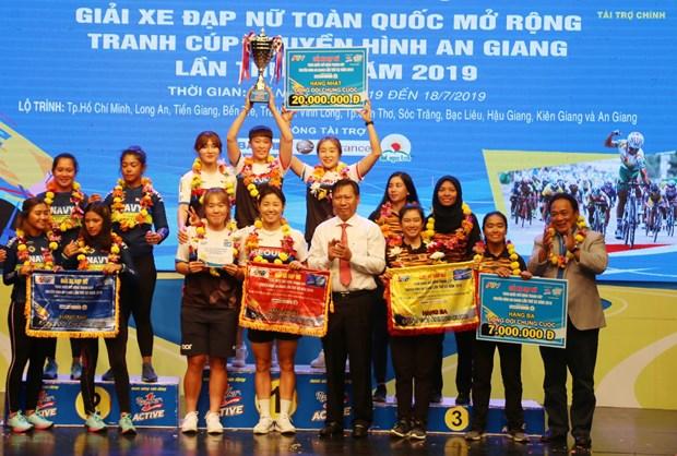 Cloture de la 20e Coupe de Television de An Giang de cyclisme feminin hinh anh 1