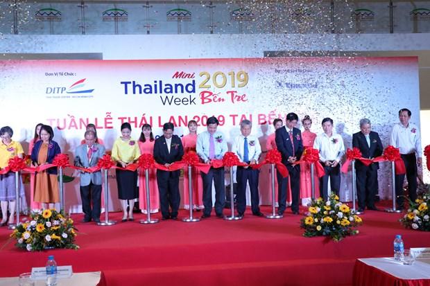 Ouverture de la Semaine de la Thailande 2019 a Ben Tre hinh anh 1