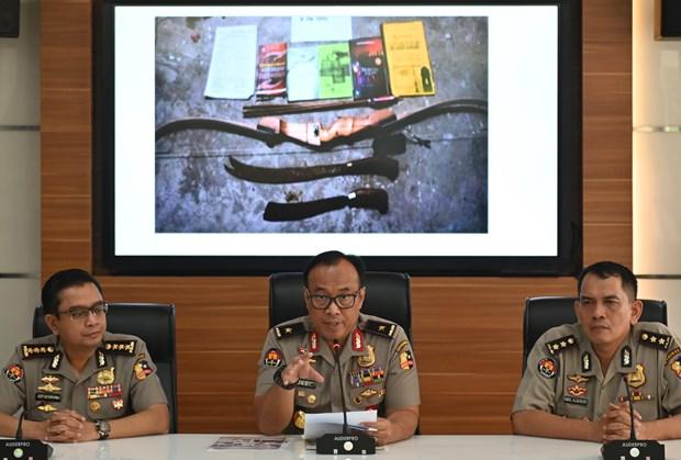Indonesie : la police dejoue un complot d'attentats a la bombe hinh anh 1