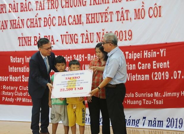 Ba Ria–Vung Tau : Soutien aux victimes de l'agent orange/dioxine hinh anh 1