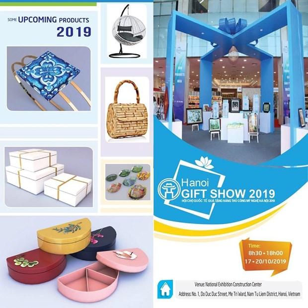 Bientot la foire internationale Hanoi Gift Show 2019 hinh anh 1