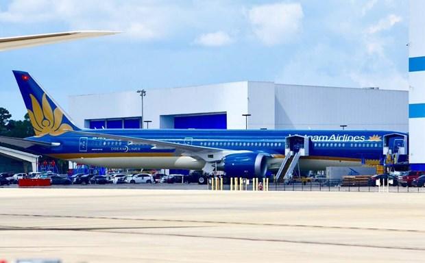 Vietnam Airlines va recevoir son premier Boeing 787-10 Dreamliner hinh anh 1