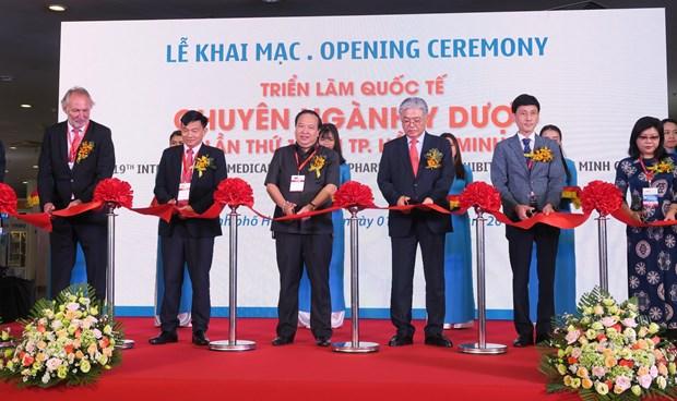 Ouverture de la 19e edition du salon Vietnam Medi-Pharm a Ho Chi Minh-Ville hinh anh 1