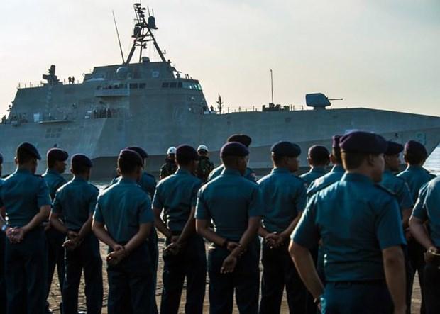 L'Indonesie et les Etats-Unis debutent leur exercice commun CARAT 2019 hinh anh 1