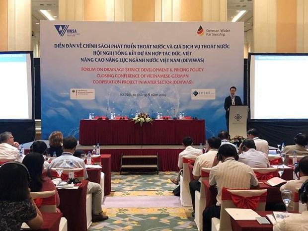 L'Allemagne aide le developpement durable du secteur de l'eau du Vietnam hinh anh 1
