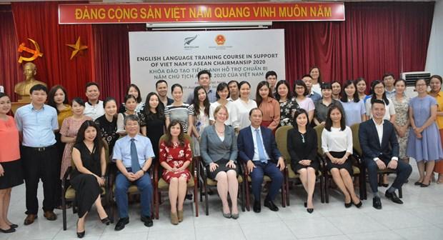 La Nouvelle-Zelande organise pour des fonctionnaires vietnamiens un cours d'anglais hinh anh 1