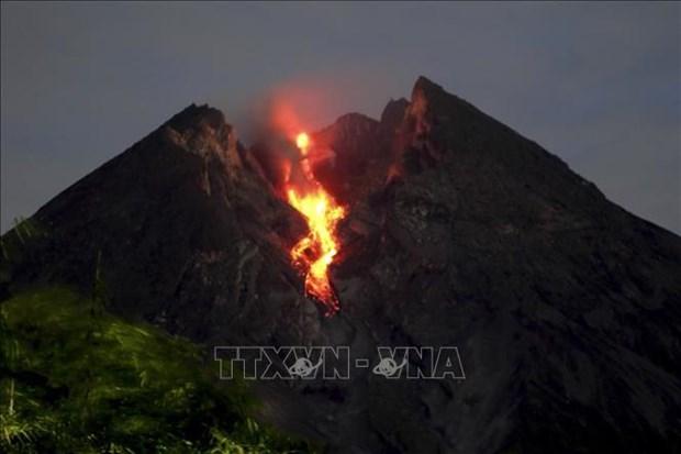 L'Indonesie interdit les activites autour du volcan Merapi hinh anh 1