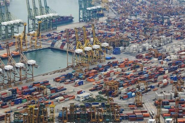 Singapour : les exportations en baisse pour le 5e mois consecutif hinh anh 1
