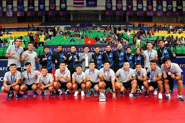 Futsal : la Confederation asiatique de football felicite le club Thai Son Nam hinh anh 1