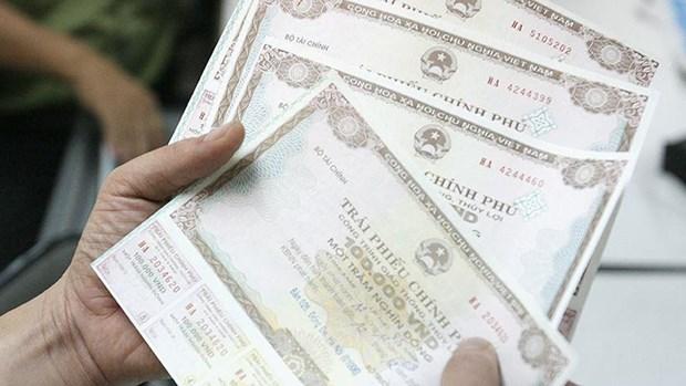 Obligations gouvernementales : mobilisation de plus de 2.850 milliards de dongs hinh anh 1