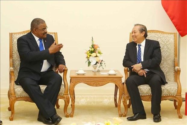 Le Vietnam et Cuba resserrent leurs liens en matiere judiciaire hinh anh 1