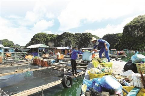 Baie de Ha Long: fin du plastique a usage unique hinh anh 1