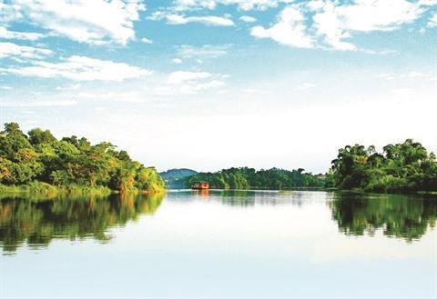 Le charme du lac Ly a Phu Tho hinh anh 1