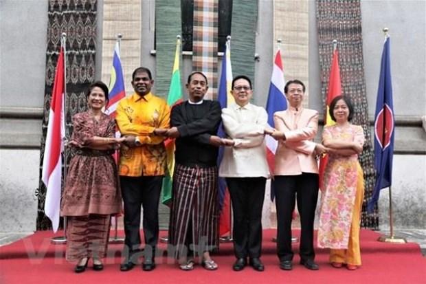 Journee de la famille de l'ASEAN celebree a Rome hinh anh 1