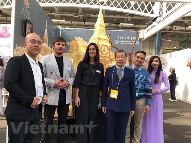 Des produits artisanaux vietnamiens apprecies lors du salon international Top Drawer hinh anh 1