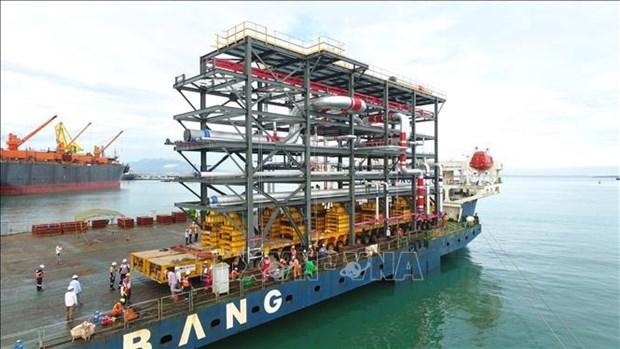 Doosan Vina exporte 12 grands modules vers les EAU hinh anh 1