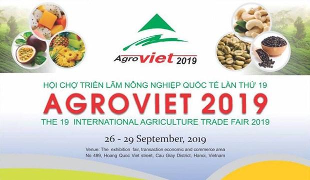 Bientot la Foire de l'agriculture AgroViet 2019 et la Foire aux produits aquatiques de Hanoi hinh anh 1