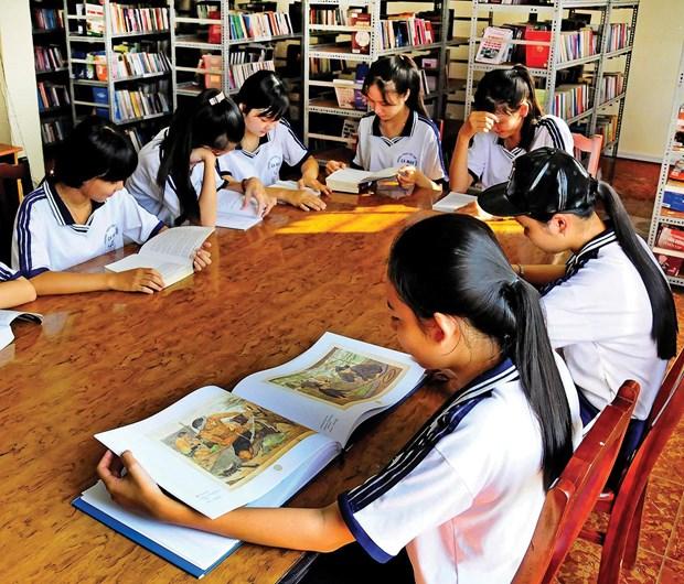 La Republique de Coree ouvre trois nouvelles bibliotheques pour etudiants au Vietnam hinh anh 1