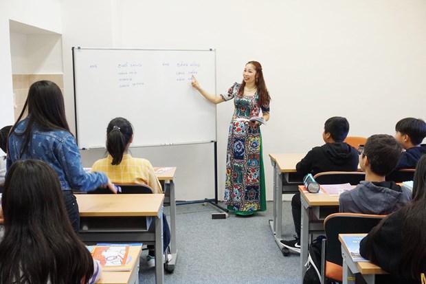 Cours de langue vietnamienne pour les jeunes Viet Kieu en Republique tcheque hinh anh 2