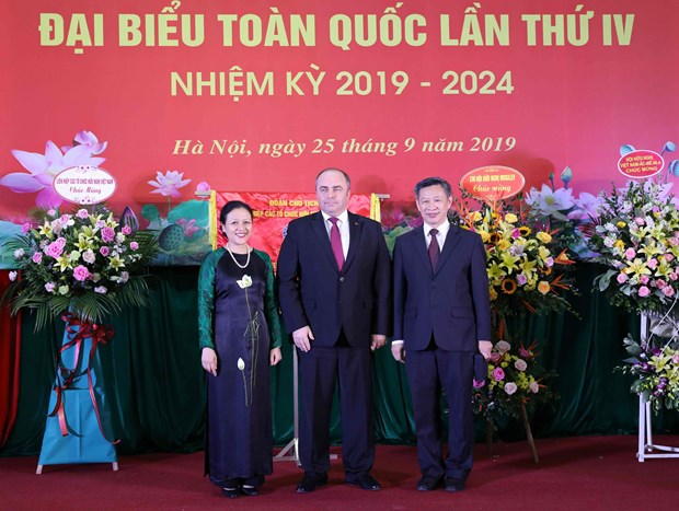 Congres national de l'Association d'amitie Vietnam-Bielorussie a Hanoi hinh anh 2