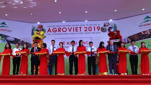 Ouverture de la Foire internationale de l'agriculture AgroViet 2019 a Hanoi hinh anh 1