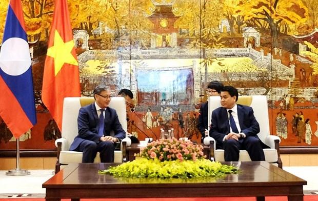 Hanoi s'efforce d'elargir ses relations avec les localites du Laos hinh anh 1