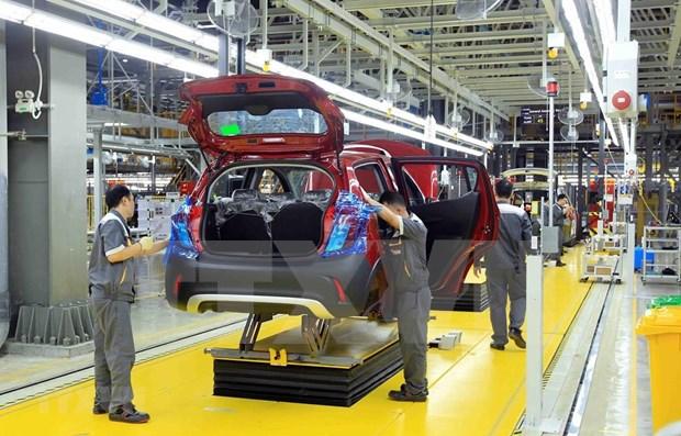Vinh Phuc : Le secteur auto-moto emploie 1.200 travailleurs hinh anh 1