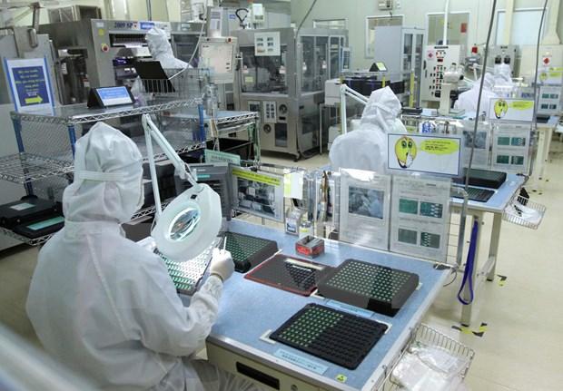 Vinh Phuc: le secteur electrique et de fabrication des composants electroniques en hausse de 8% hinh anh 1