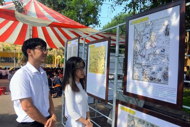 Exposition « Hoang Sa, Truong Sa du Vietnam - Preuves historiques et juridiques » a Quang Nam hinh anh 1