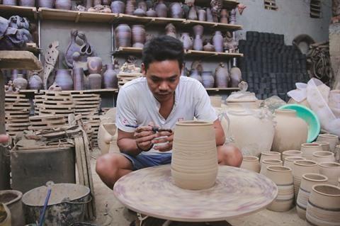 La poterie de Huong Canh menacee hinh anh 2