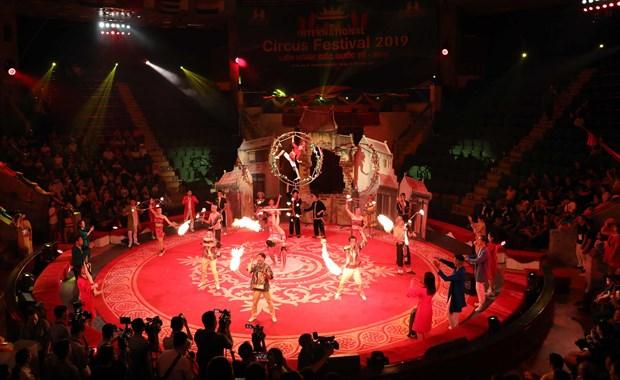 Ouverture du Festival international du cirque 2019 hinh anh 2
