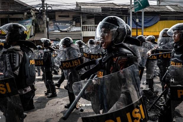 L'Indonesie renforce la securite et interdit la protestation avant l'inauguration presidentielle hinh anh 1