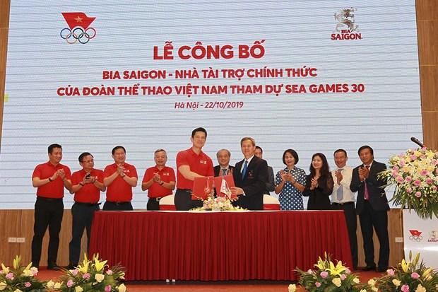 SEA Games 30 : Sabeco devient le sponsor officiel de la delegation sportive vietnamienne hinh anh 1